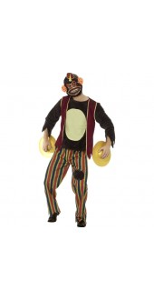 Clapping Monkey Toy Costume