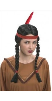 Indian Squaw Wig