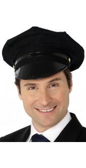 Chauffeur Hat, Black