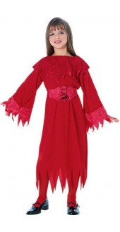 Child Halloween Flame Dancer Fancy Dress