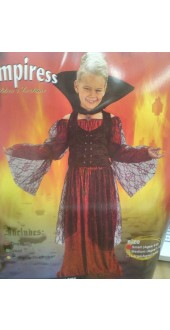 Loverly childs Childs Vampiress Fancy Dress Costume