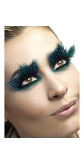 Aqua Dots Feathered Eyelashes