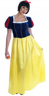 Long Snow White Dress