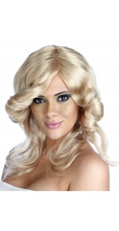 Farah Flick Blonde Wig