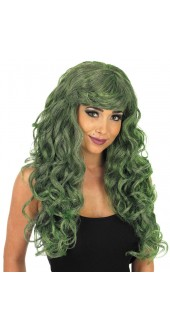 Green Temptress Wig