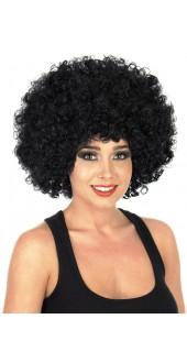 Big Black Afro Wig