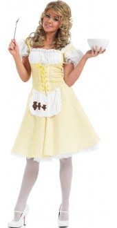 Ladies Longer Length Goldilocks Costume
