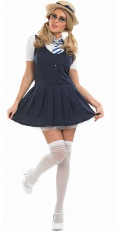 School Girl Tutu Costume