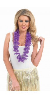 Purple Hawaiian Garland