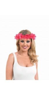Pink Leis Headband