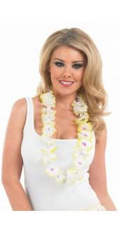 Yellow And White Hawaiian Garland