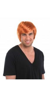 Boy Band Ginger Wig