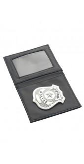Police Badge, Silver