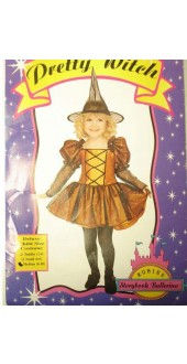 Halloween Pretty Witch Fancy Dress