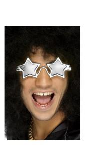 70's Silver Star Glasses