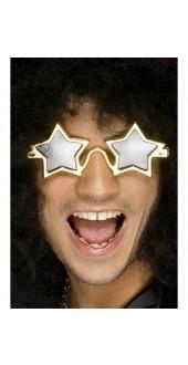 70's Gold Star Glasses