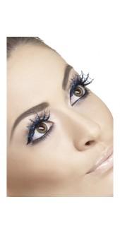 Spiderwebs With Glitter Eyelashes