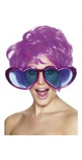 Jumbo Heart Glasses