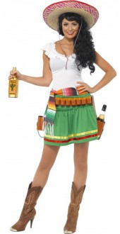 Mexican Tequila Girl Costume