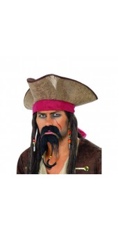 Budget Pirate Beard Set