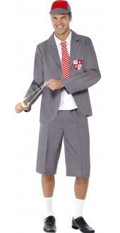 Men's School Boy Costume