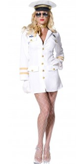 Fever Top Gun Officer Costume