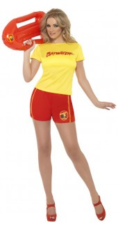 Ladies Baywatch Beach Costume