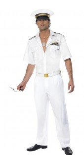 Fever Top Gun Captain Costume