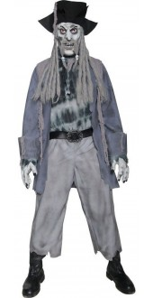 Zombie Ghost Pirate Halloween Costume