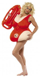 Fat Baywatch Costume
