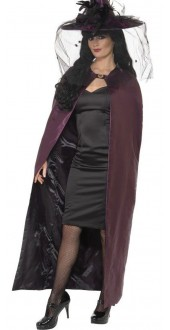 Reversible Cape Purple/Black
