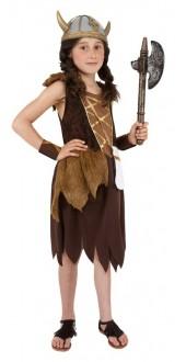 Girls Viking Costume