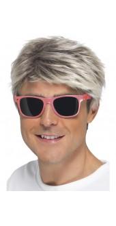 Pink 80's Neon Glasses