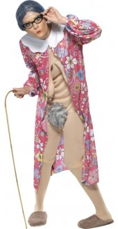 Gravity Granny Costume