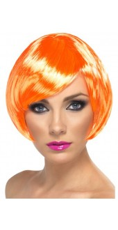 Babe Wig Fire Coral
