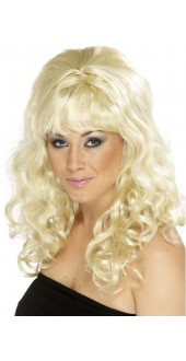 60s Behive Beauty Wig Blonde