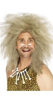 Crazy Caveman Wig Blonde