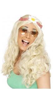 60s Groovy Wig Blonde