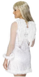White Angel Wings Smiffys
