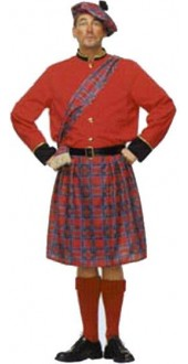 Scotish Scotsman Kilt