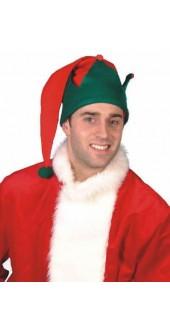 Elf Hat With Pom Pom Smiffys