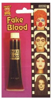 Blood In Tube Smiffys Fancy Dress Accessory