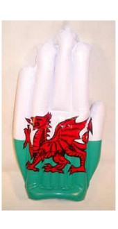 Inflatable Welsh Hand