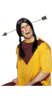 Indian Arrow Through The Head Fancy Dress Accessory