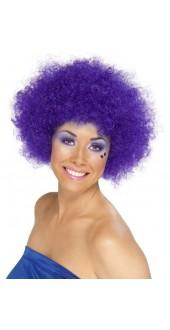 Funky Purple Afro