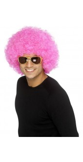 Funky Pink Afro