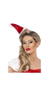 Santa Hat On Headband