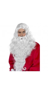 Father Christmas Wig And Beard