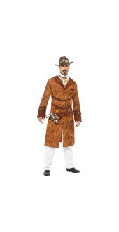 Halloween Wild West Cowboy Fancy Dress Costume