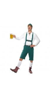 Mens Oktoberfest Fancy Dress Costume
